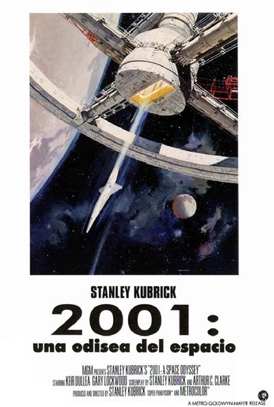 2001: Una odisea del espacio  Ciencia-ficción / 1968 / Reino Unido / 139 minutos