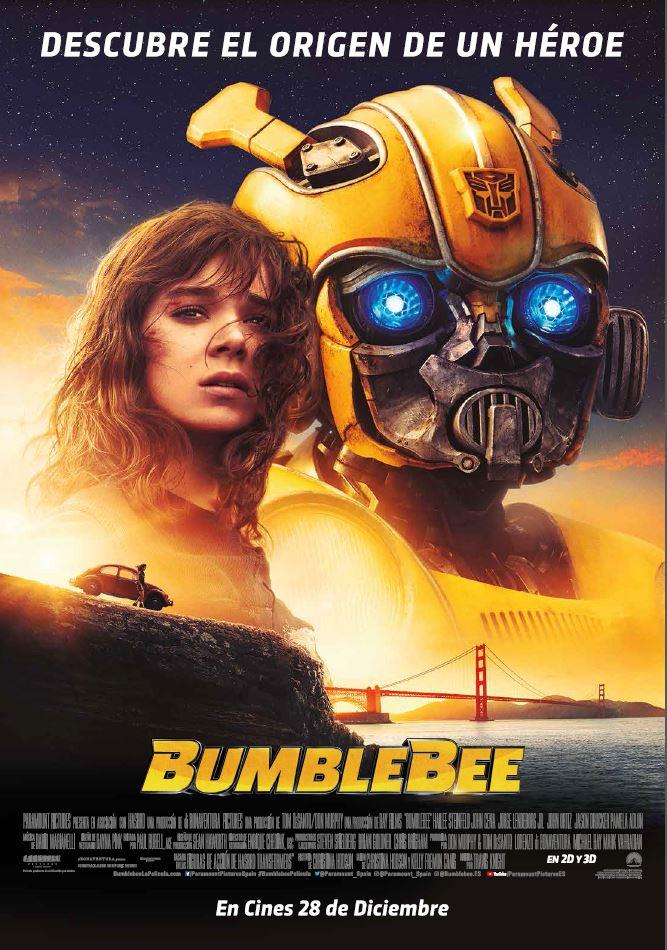 Bumblebee  Ciencia-ficción / 2018 / EE.UU / 114 minutos