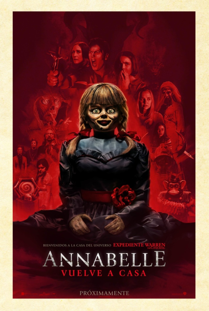 Annabelle vuelve a casa  Terror / 2019 / EE.UU /