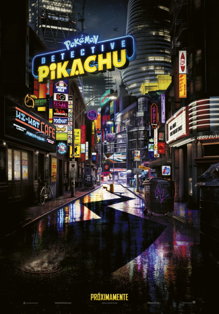 Pokémon: Detective Pikachu  Fantástica / 2019 / EE.UU / 104 minutos