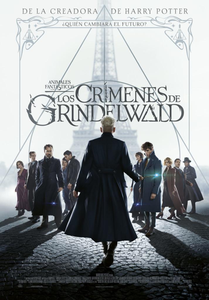 Animales fantásticos: Los crímenes de Grindelwald  Fantástica / 2018 / Reino Unido / 133 minutos