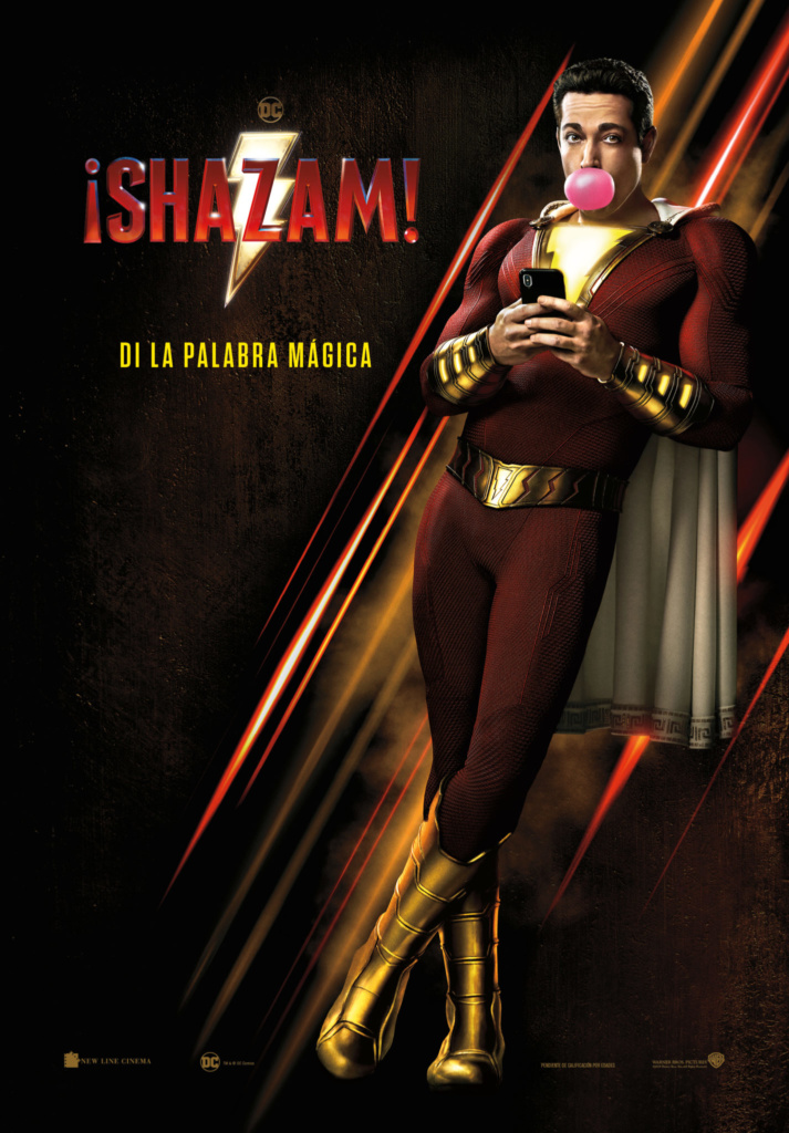 ¡Shazam!  Fantástica / 2019 / EE.UU / 131 minutos