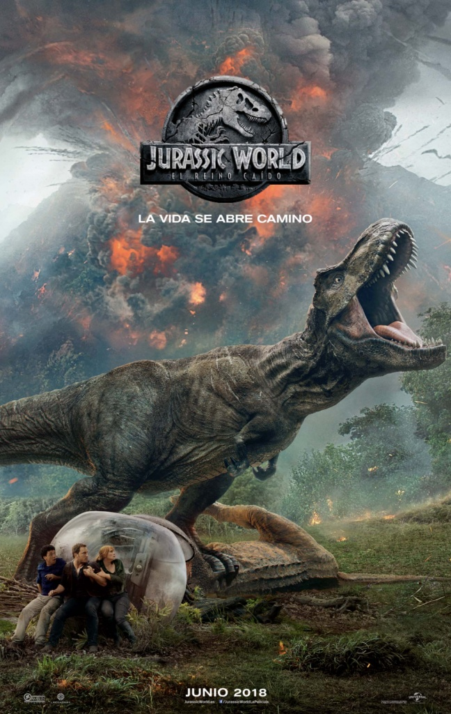 Jurassic World: El reino caído  2018 / EE.UU / 128 minutos