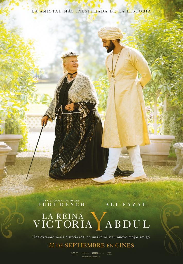 La Reina Victoria y Abdul  Drama / 2017 / Reino Unido / 112 minutos