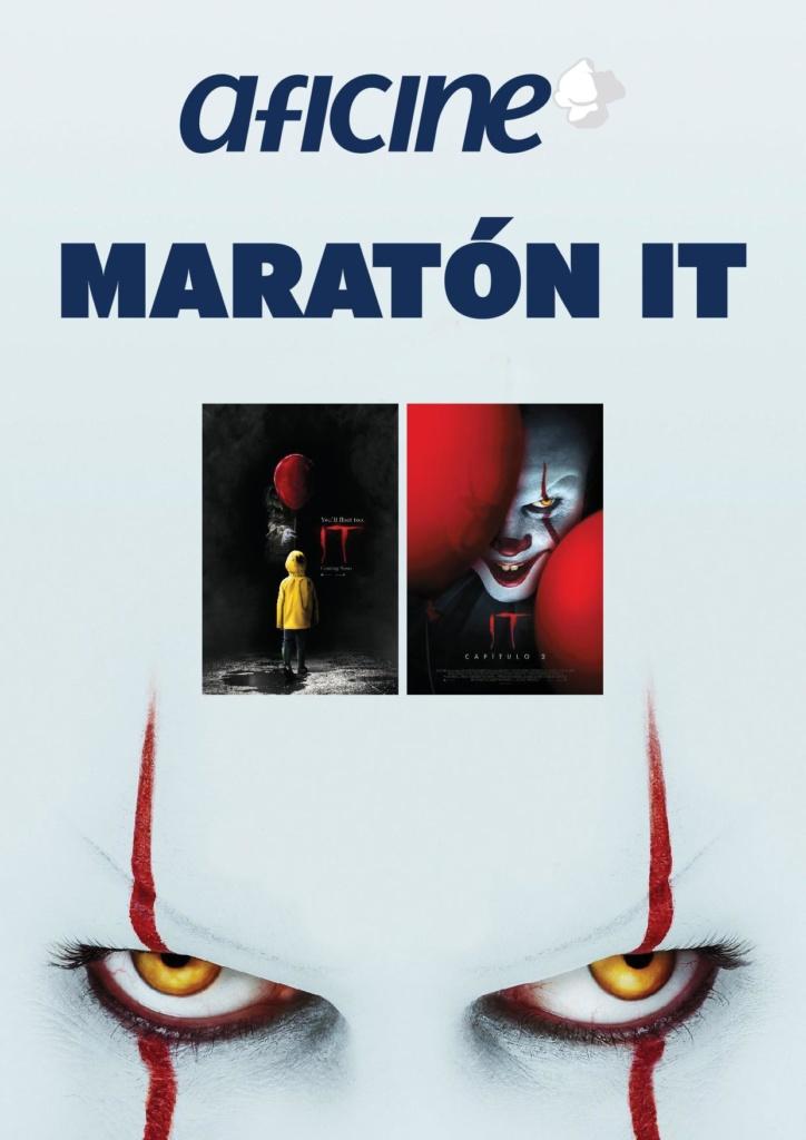 MARATÓN IT. Capitulo 1 y 2  Terror / 2019 / EE.UU / 300 minutos