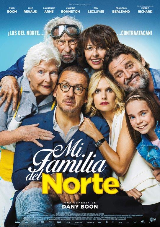 Mi familia del norte  Comedia / 2018 / Francia / 106 minutos