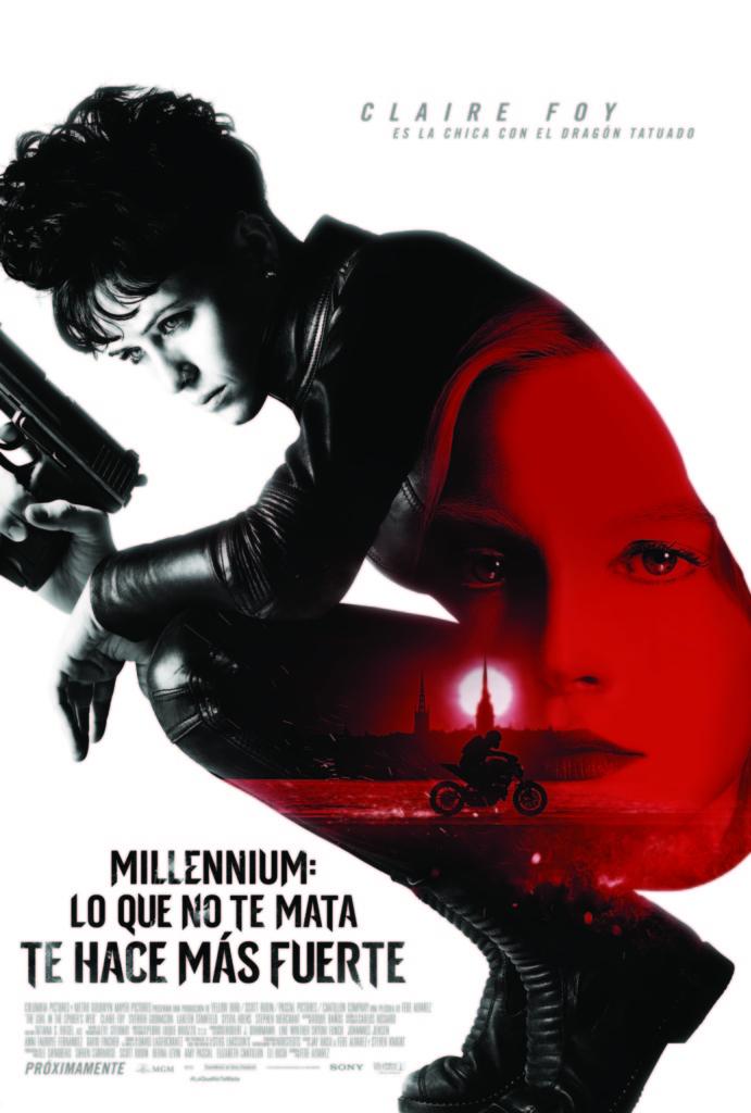 Millennium: Lo que no te mata te hace más fuerte  Thriller / 2018 / EE.UU / 115 minutos