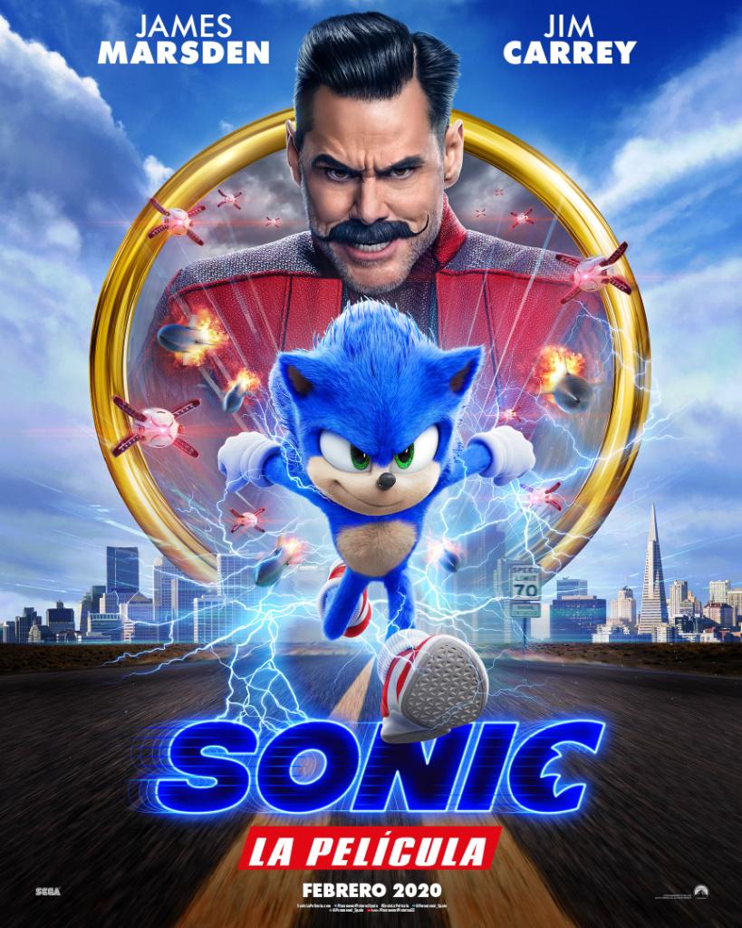 Sonic, la película  Aventuras / 2019 / EE.UU / 100 minutos
