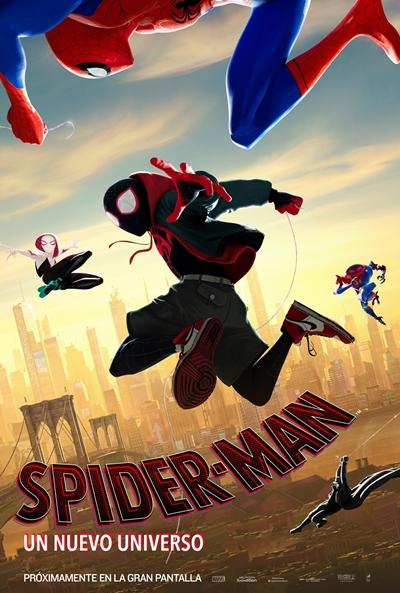 Spider-Man: Un nuevo universo  Animación / 2018 / EE.UU /