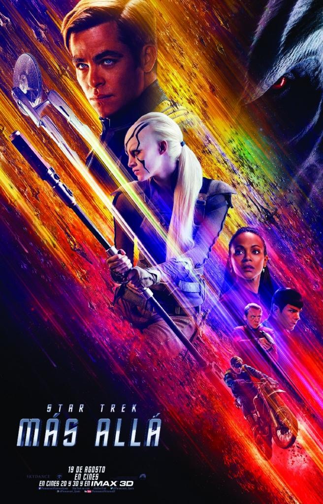 Star Trek: Más allá  Ciencia-ficción / 2016 / EE.UU / 120 minutos