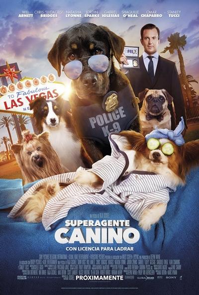Superagente canino  Comedia / 2018 / EE.UU /