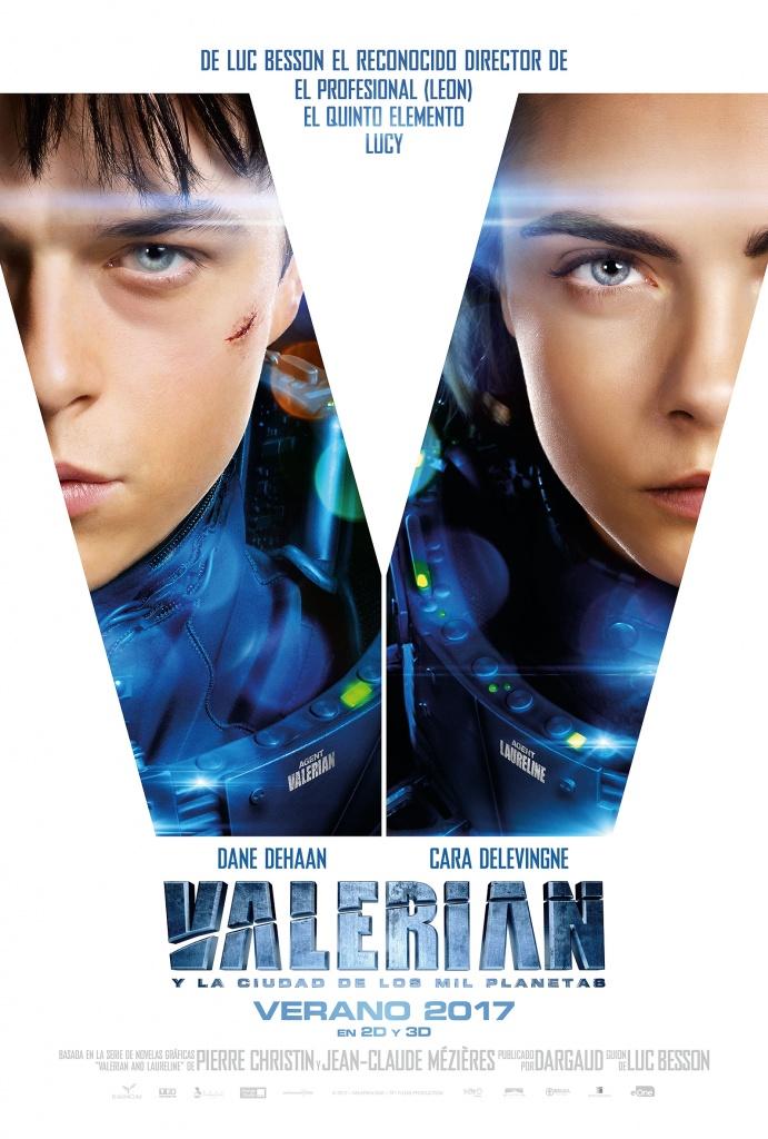 Valerian y la ciudad de los mil planetas  Ciencia-ficción / 2017 / Francia /