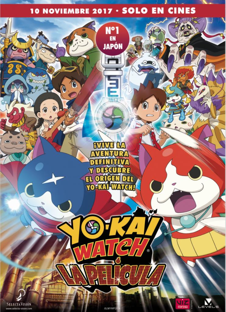 Yo-Kai Watch, la película Animación / 2014 / Japón / 97 minutos