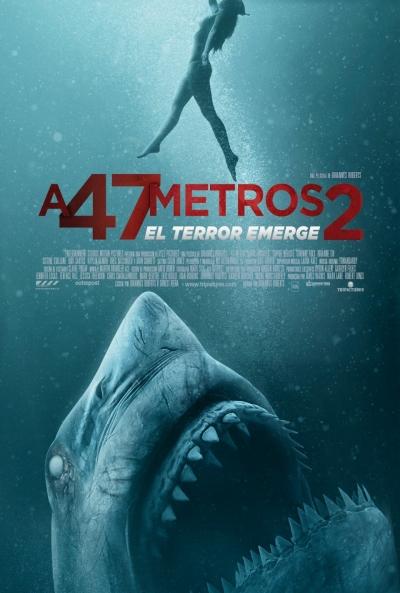 A 47 metros 2  Terror / 2019 / Reino Unido / 89 minutos