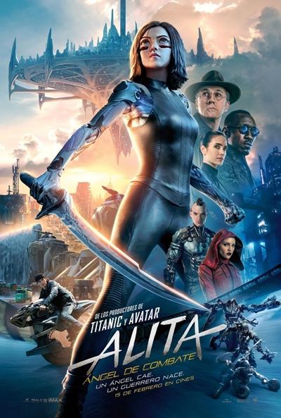 Alita: Ángel de combate  Ciencia-ficción / 2019 / EE.UU / 121 minutos