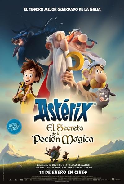 Astérix: El secreto de la poción mágica  2018 / Francia / 86 minutos
