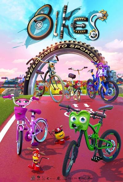 Bikes  Animación / 2018 / España / 92 minutos