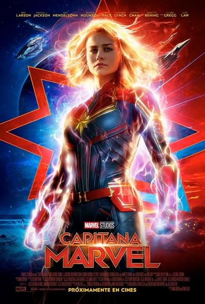 Capitana Marvel  Ciencia-ficción / 2019 / 130 minutos