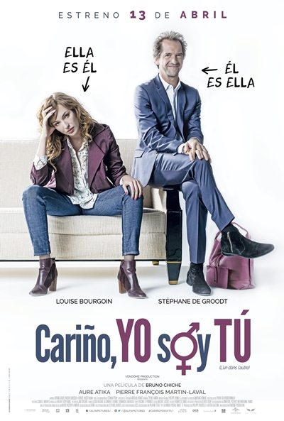 Cariño, yo soy tú  Comedia / 2017 / Francia / 85 minutos