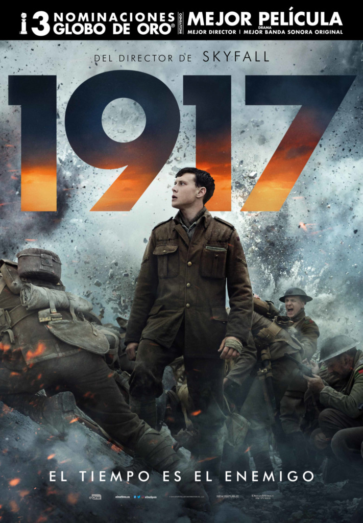 1917  Bélica / 2020 / EE.UU / 119 minutos