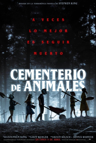 Cementerio de animales  Terror / 2019 / EE.UU / 120 minutos