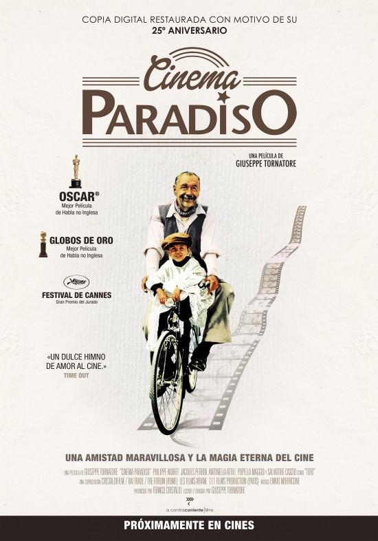 CINEMA PARADISO  Drama / 1988 / 124 minutos