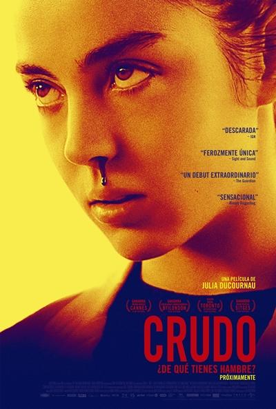 Crudo  Terror / 2017 / Francia / 89 minutos