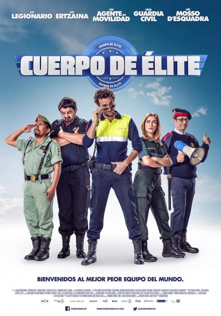 Cuerpo de élite  Comedia / 2016 / España / 97 minutos