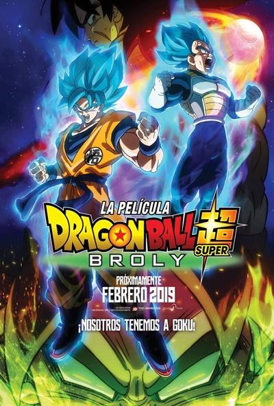 Dragon Ball Super: Broly  Animación / 2018 / Japón / 100 minutos