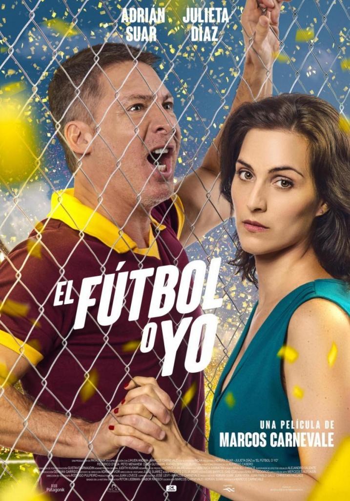 El fútbol o yo  Comedia / 2017 / Argentina / 105 minutos