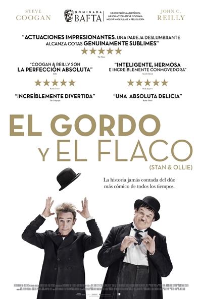 El Gordo y el Flaco  Comedia / 2018 / Reino Unido / 97 minutos