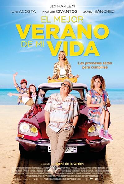 El mejor verano de mi vida  Comedia / 2018 / España / 90 minutos
