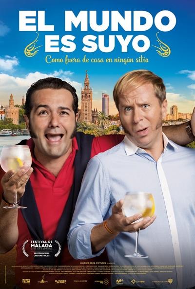 El mundo es suyo  Comedia / 2018 / España / 92 minutos
