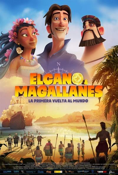 Elcano y Magallanes, la primera vuelta al mundo  Animación / 2019 / España / 90 minutos