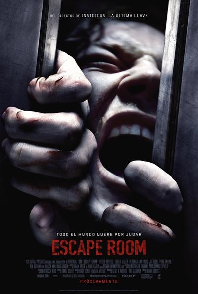 Escape Room  Terror / 2018 / EE.UU / 81 minutos