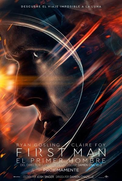 First Man (El primer hombre)  Drama / 2018 / EE.UU / 133 minutos
