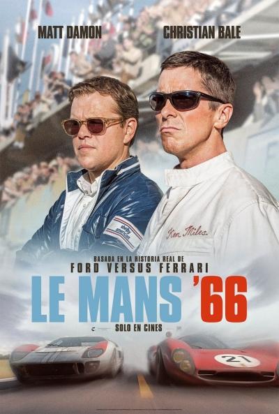 Le Mans '66  Acción / 2019 / EE.UU / 152 minutos