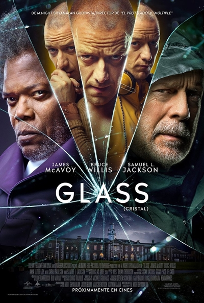Glass (Cristal)  Intriga / 2019 / EE.UU / 129 minutos