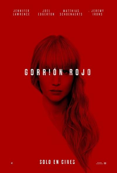 Gorrión rojo  Thriller / 2018 / EE.UU /