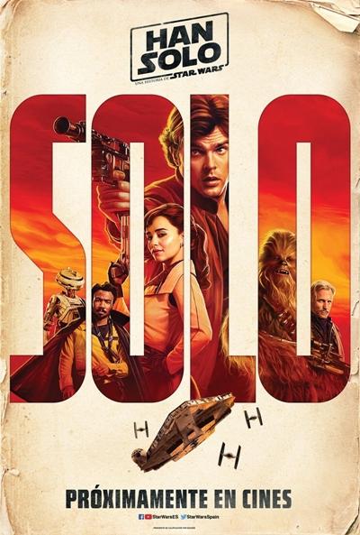 Han Solo, una historia de Star Wars  Ciencia-ficción / 2018 / EE.UU / 143 minutos
