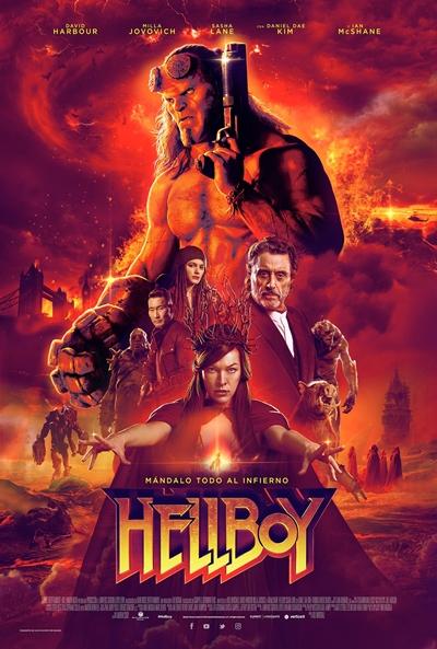 Hellboy  Fantástica / 2019 / EE.UU / 120 minutos