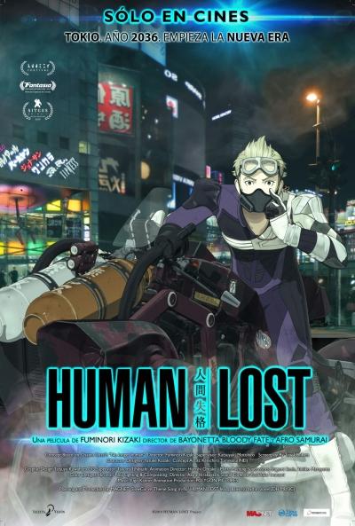 HUMAN LOST  Animación / 2019 / Japón / 110 minutos