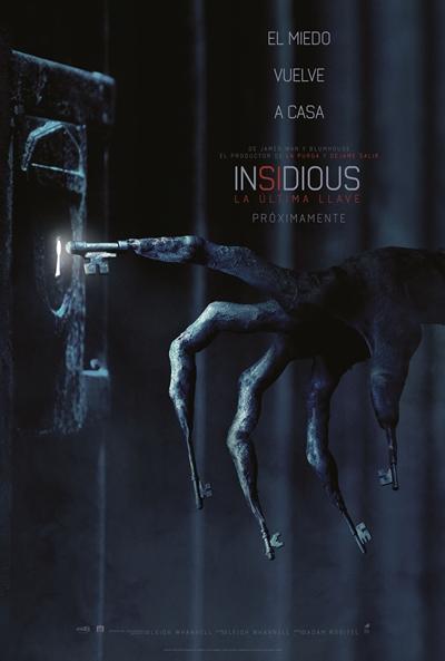 Insidious: La última llave  Terror / 2018 / EE.UU /