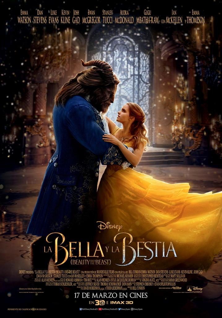 La bella y la bestia  Fantástica / 2017 / EE.UU / 130 minutos