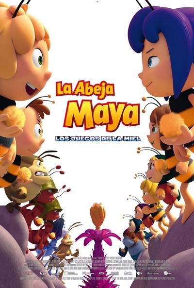 La abeja Maya: Los juegos de la miel  Animación / 2017 / Australia / 83 minutos