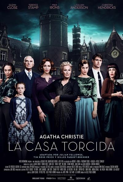 La casa torcida  Drama / 2017 / Reino Unido / 115 minutos