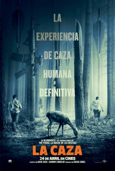 La Caza  Acción / Terror / Thriller / 2020 / EE.UU / 90 minutos