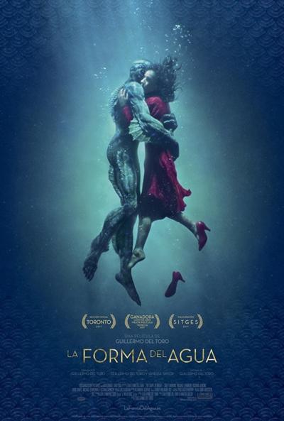 La forma del agua  Fantástica / 2018 / EE.UU / 119 minutos