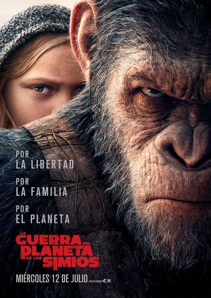 La guerra del planeta de los simios  Ciencia-ficción / 2017 / EE.UU /