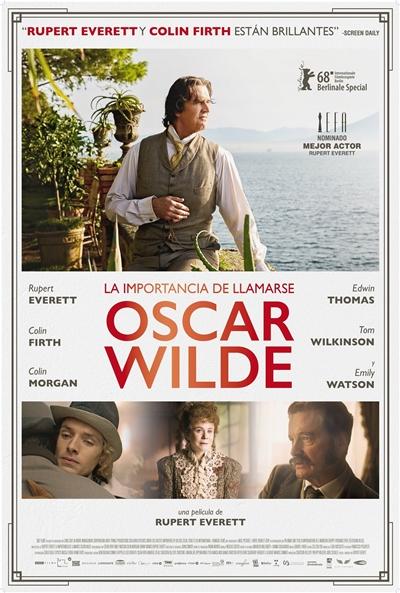 La importancia de llamarse Oscar Wilde  2018 / Reino Unido / 105 minutos
